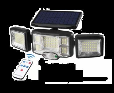 Lampa solara cu panou solar si senzor de miscare, 192 LED, JD-2192