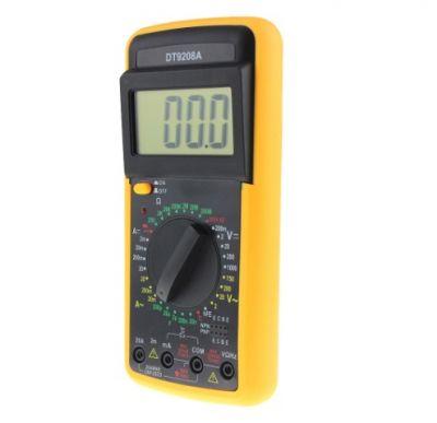 Multimetru digital 9208 cu carcasa antisoc