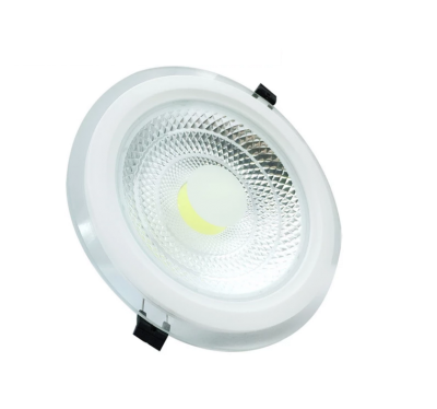 Aplica rotunda leduri, dispenser transparent, 10 led, 5W, 9.5cm