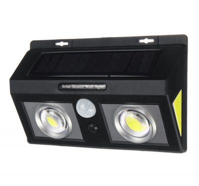 Lampa solara Dubla 61 LED cu senzor miscare si senzor lumina