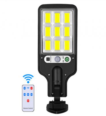Lampa cu panou solar, senzor de miscare, JY-616-4
