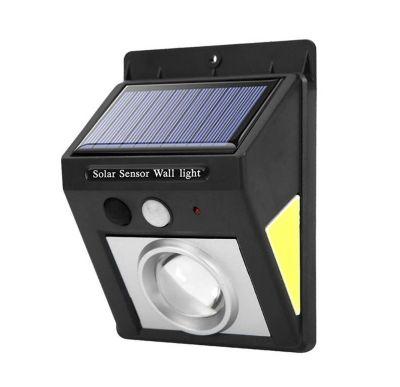 Lampa solara 32 LED, rezistenta la apa, lumina alba-rece