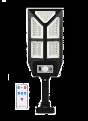 Lampa solara de perete, sensor de miscare si panou solar, 196 SMD