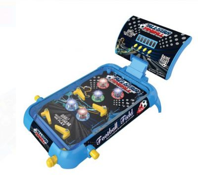 Joc Pinball pentru fete si baieti, scor digital, buton flipper, launch bar si bumpers