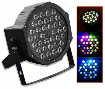 Proiector PAR RGB 36 LED cu joc lumini