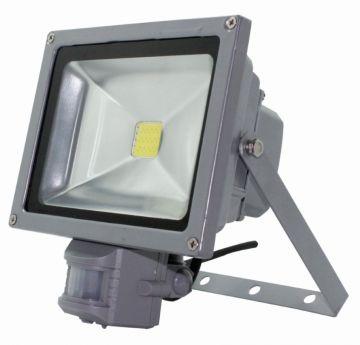 Proiector LED pentru exterior 50W cu senzor miscare,  waterproof