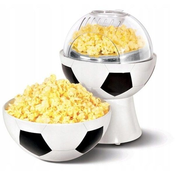Aparat de popcorn MInge Fotball cu bol incorporat