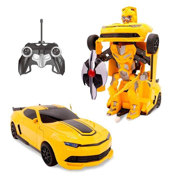 Masina de jucarie ce se tranforma in Robot, cu telecomanda