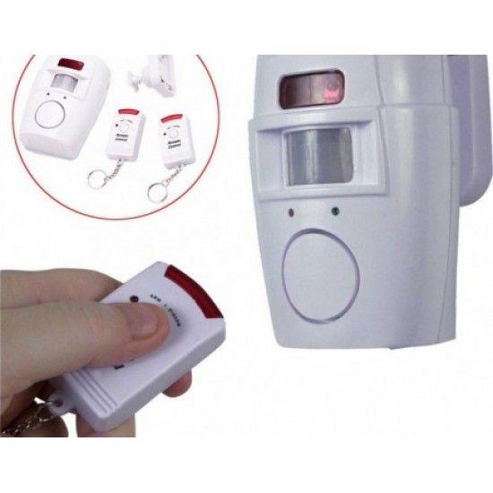 Sistem de Alarma Anti-Efractie, Senzor Miscare, Telecomanda