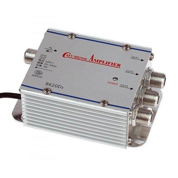 Amplificator de semnal TV cu 3 iesiri