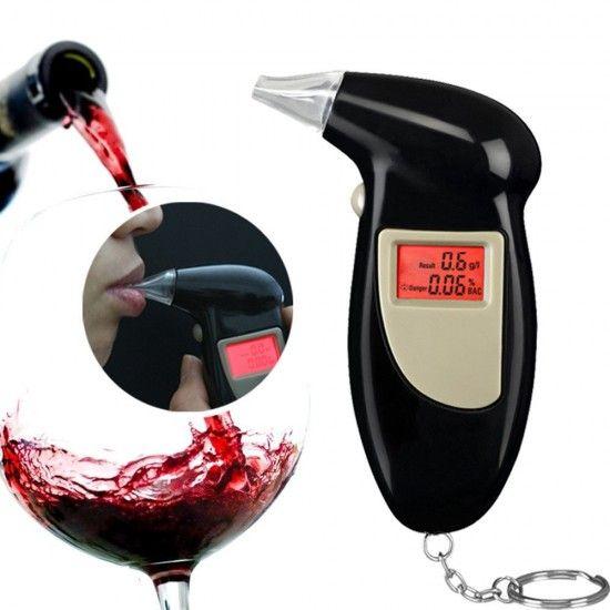 Alcool Tester cu 4 rezerve de plastic