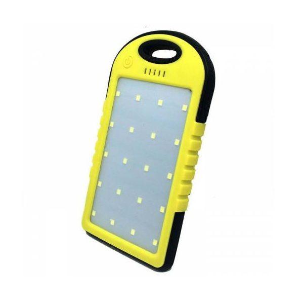 Baterie solara universala 8000mah si lampa cu 20 LED