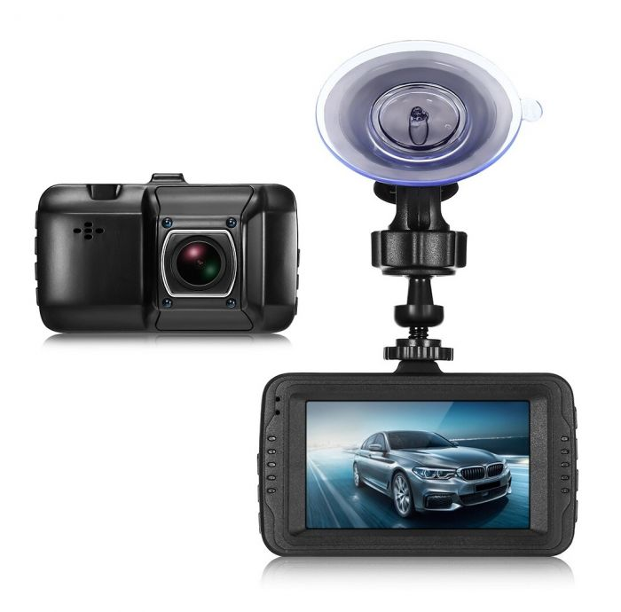 Camera auto HD Camcorder cu display 3 inch, 1080P