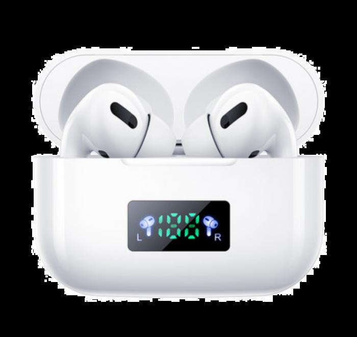 Casti Wireless Bluetooth V5.0+, afisaj LED, control Touch, compatibile cu iOS / Android,
