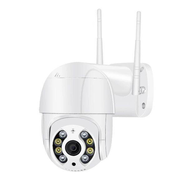 Camera Smart IP Wireless Exterior 8 LED, FULL HD,  Night Vision Color, Rotire, Audio 2 Cai