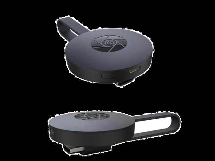 Streaming Player Chromecast, redare pe TV, Wi-Fi, HDMi, 4K