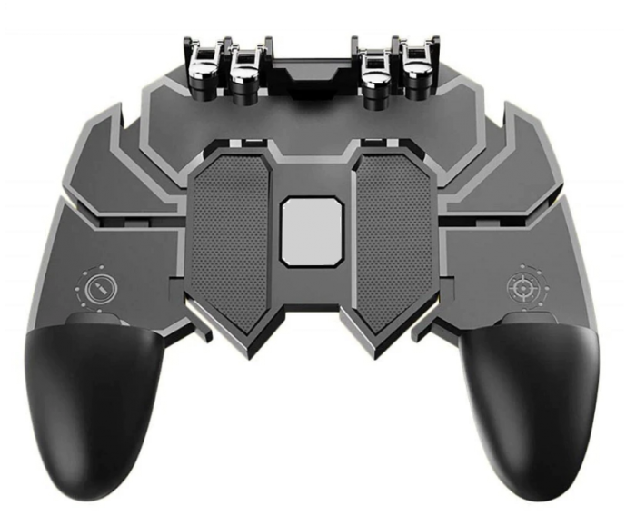 Controller gaming cu suport pentru telefon, AK66, 6 Degete