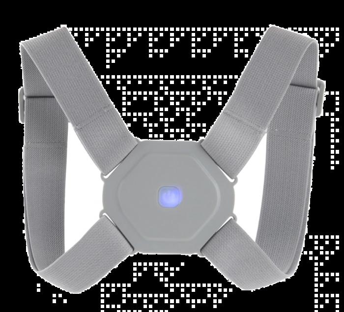 Centura ajustabila cu senzor de vibratie, pentru corectarea posturii