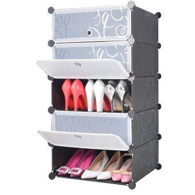 Dulap modular pentru incaltaminte, haine sau accesorii