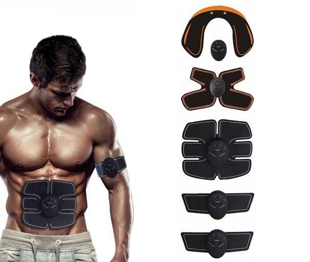 Set 5 aparate fitness de electrostimulare musculara