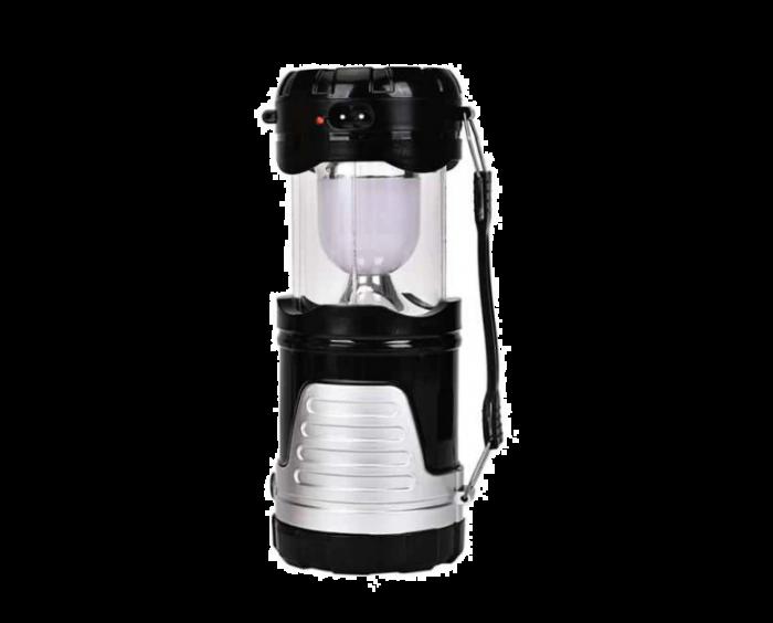 Felinar Camping LED reincarcabil cu lanterna 1W+12LED, Panou solar, WB-7088B