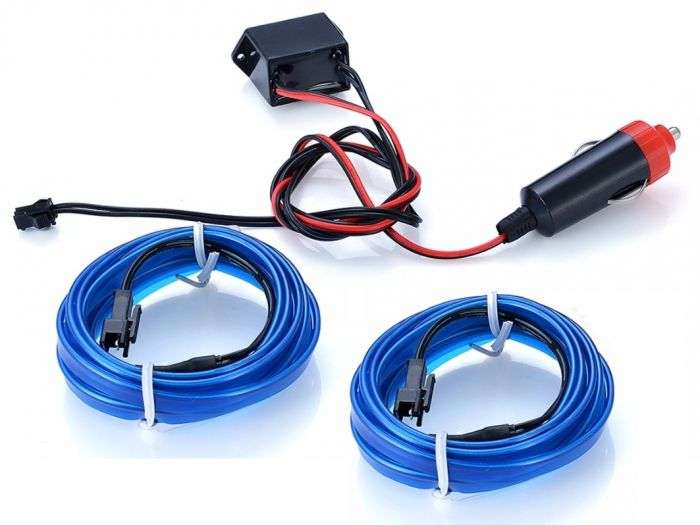 Set 2 Benzi LED auto flexibile Tunning Decor