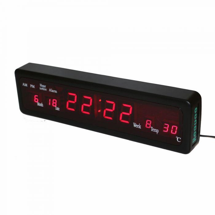 Ceas LED electronic cu calendar si termometru CX-808
