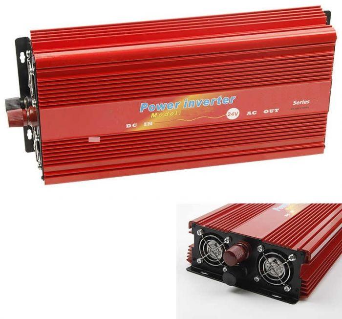 Invertor de tensiune auto, putere 300W, 12v-220v