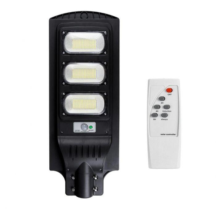 Lampa Solara Stradala 90W, 120 LED, cu telecomanda