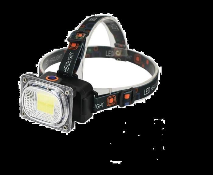 Lanterna frontrala de cap, 4 moduri