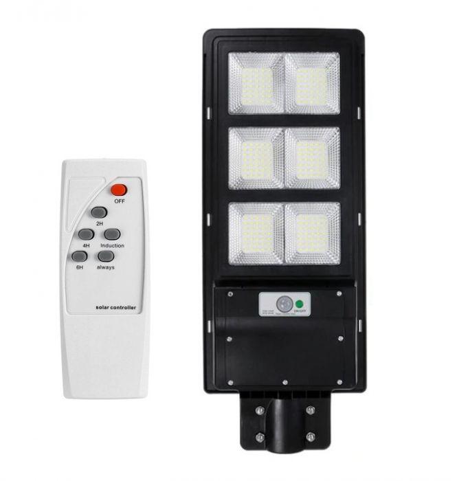 Lampa Solara Stradala 120W, 210 LED, cu telecomanda