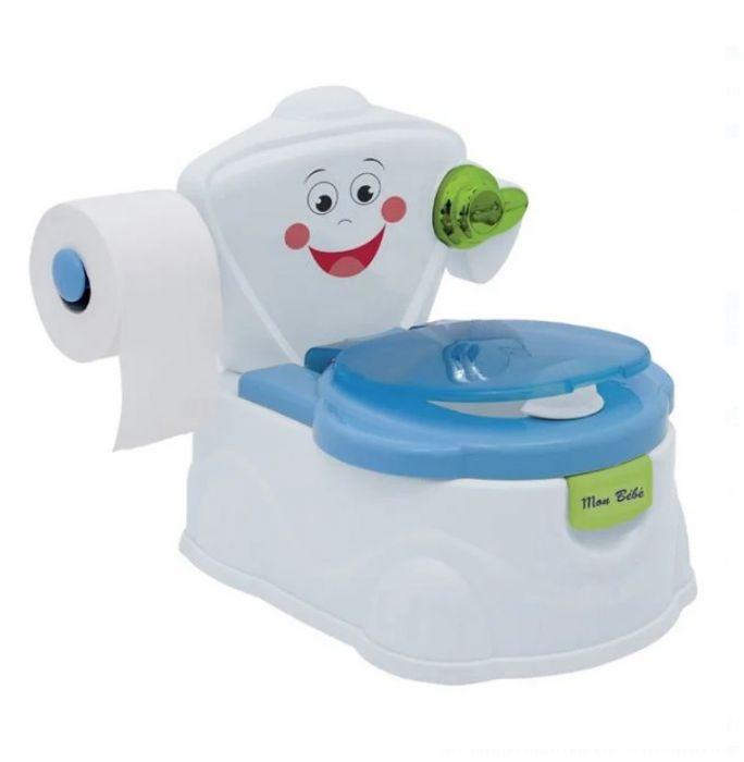 Olita tip WC cu reductor, recipient, capac si manere