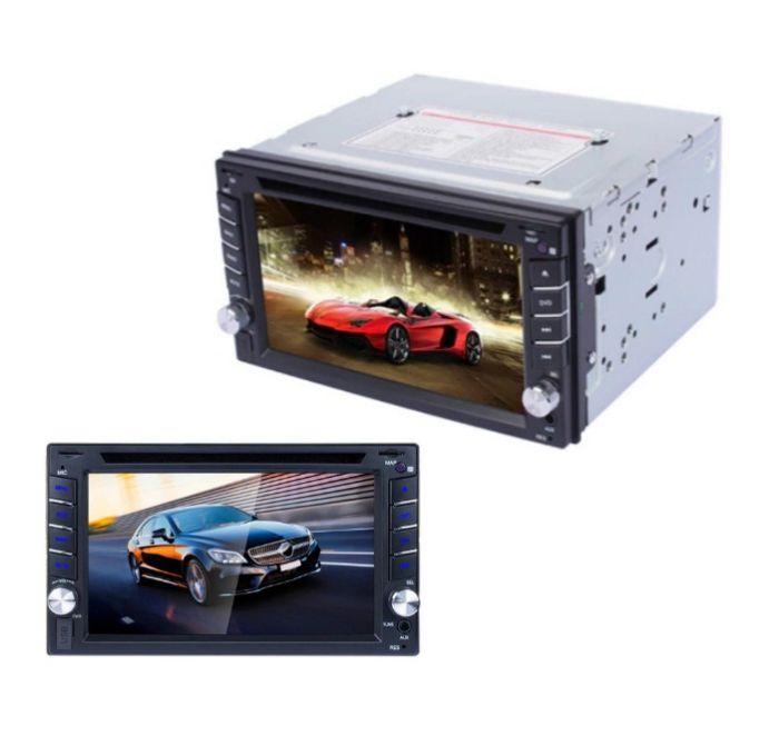 Player Auto Multimedia CD-DVD cu Display LCD, GPS, telecomanda, functie marsarier