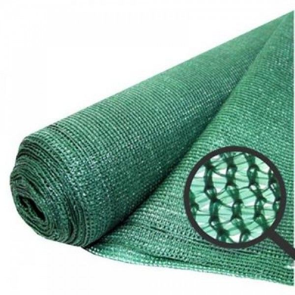 Plasa verde opaca pentru umbrire si protectie 2 x 100 metri Anti-UV