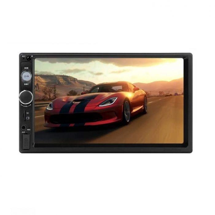 Player auto MP5 4 x 50W cu display tactil 7 inch, bluetooh, MirrorLink, AUX