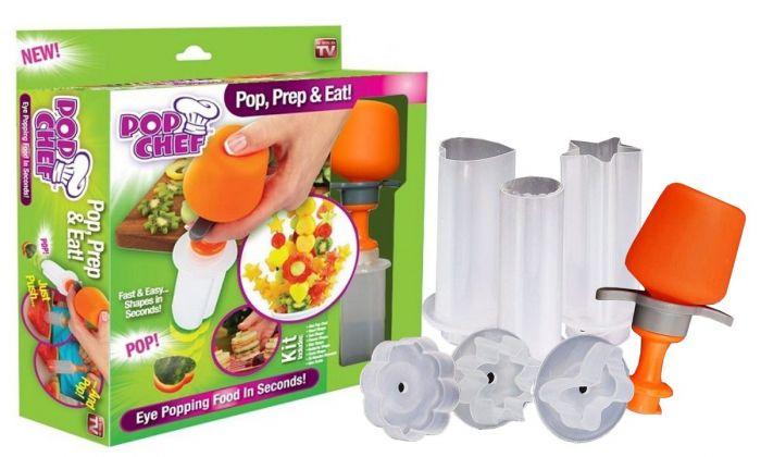 Set feliere si decorare fructe si legume Pop Chef