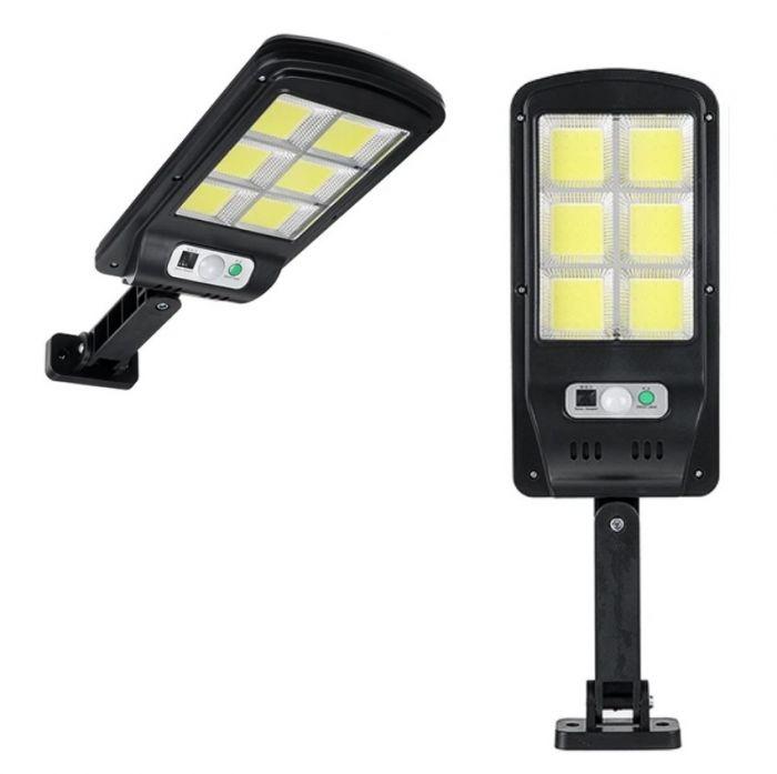 Lampa reglabila cu panou solar, senzor de miscare, 120 LED