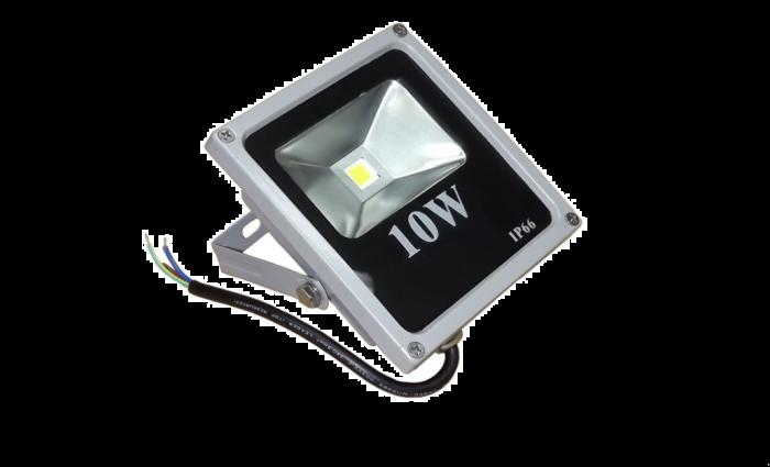 Proiector LED 10W, IP66 pentru case si gradini