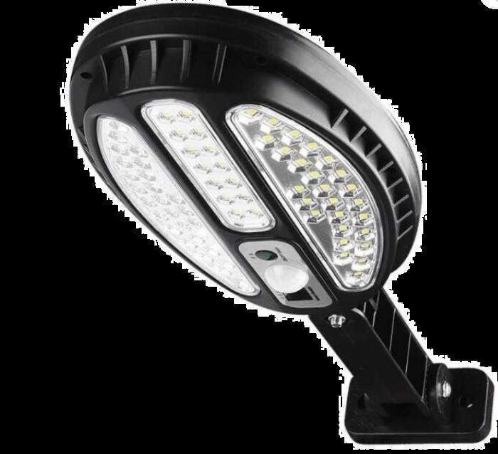 Proiector cu panou solar cu telecomanda, 66 LED SMD, HB-8188B