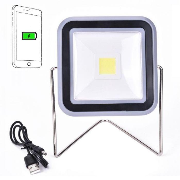 Proiector solar RY-T913 cu functie de incarcare smartphone