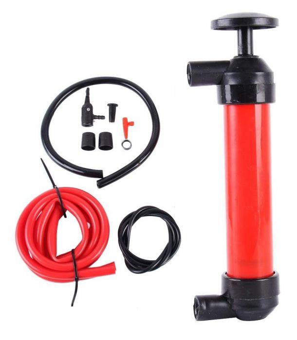 Pompa manuala multifunctionala 3in1 pentru umflare si transfer lichide