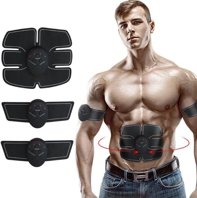 Kit electrostimulare fitness 3 piese pentru abdomen si brate