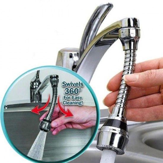 Set 2 Prelungitoare Ffexibile pentru robinet Turbo Flex