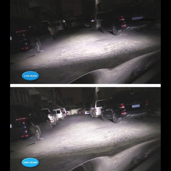 Set 2 LED becuri auto C6 H1