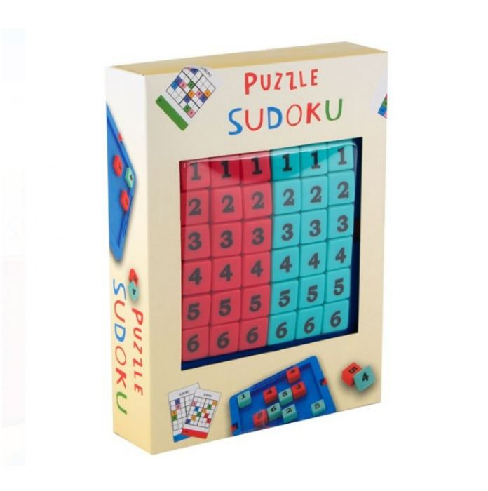 Joc de masa Sudoku cu 3 nivele de dificultate, 30 puzzleuri si solutiile lor