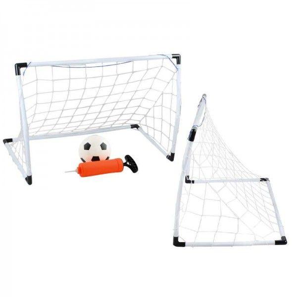 Set porti de Fotbal cu Pompa si Minge Junior