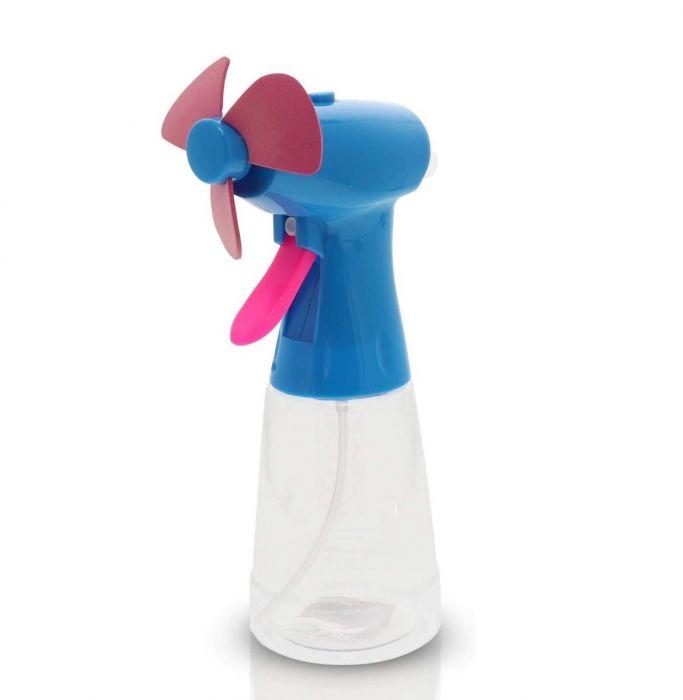 Ventilator portabil cu pulverizator de apa