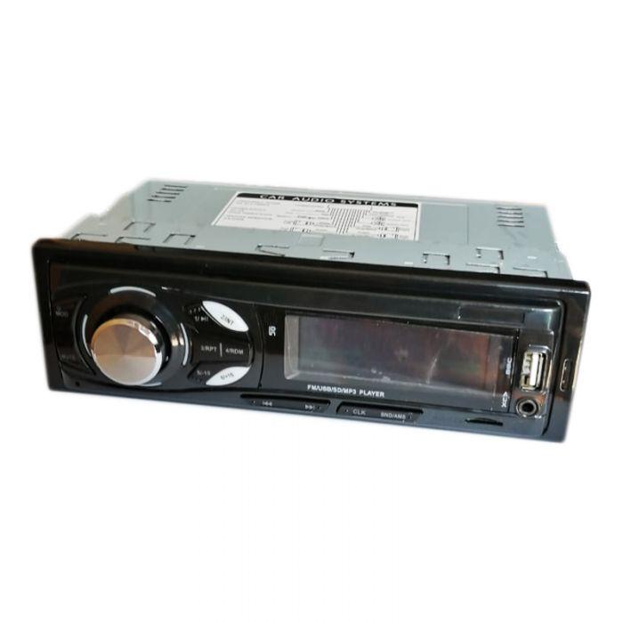 Radio MP3 Player auto cu bluetooth 6012, 4 x 60 W, USB, AUX, slot microSD, telecomanda